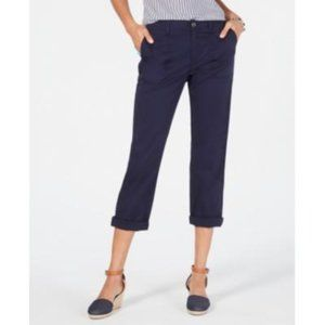 Style & Co Capri Mid Rise Size 6P Blue
